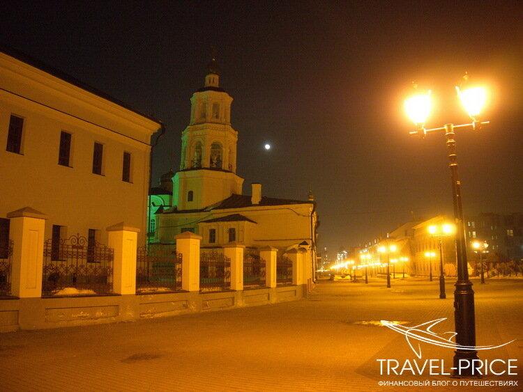Казань фонари