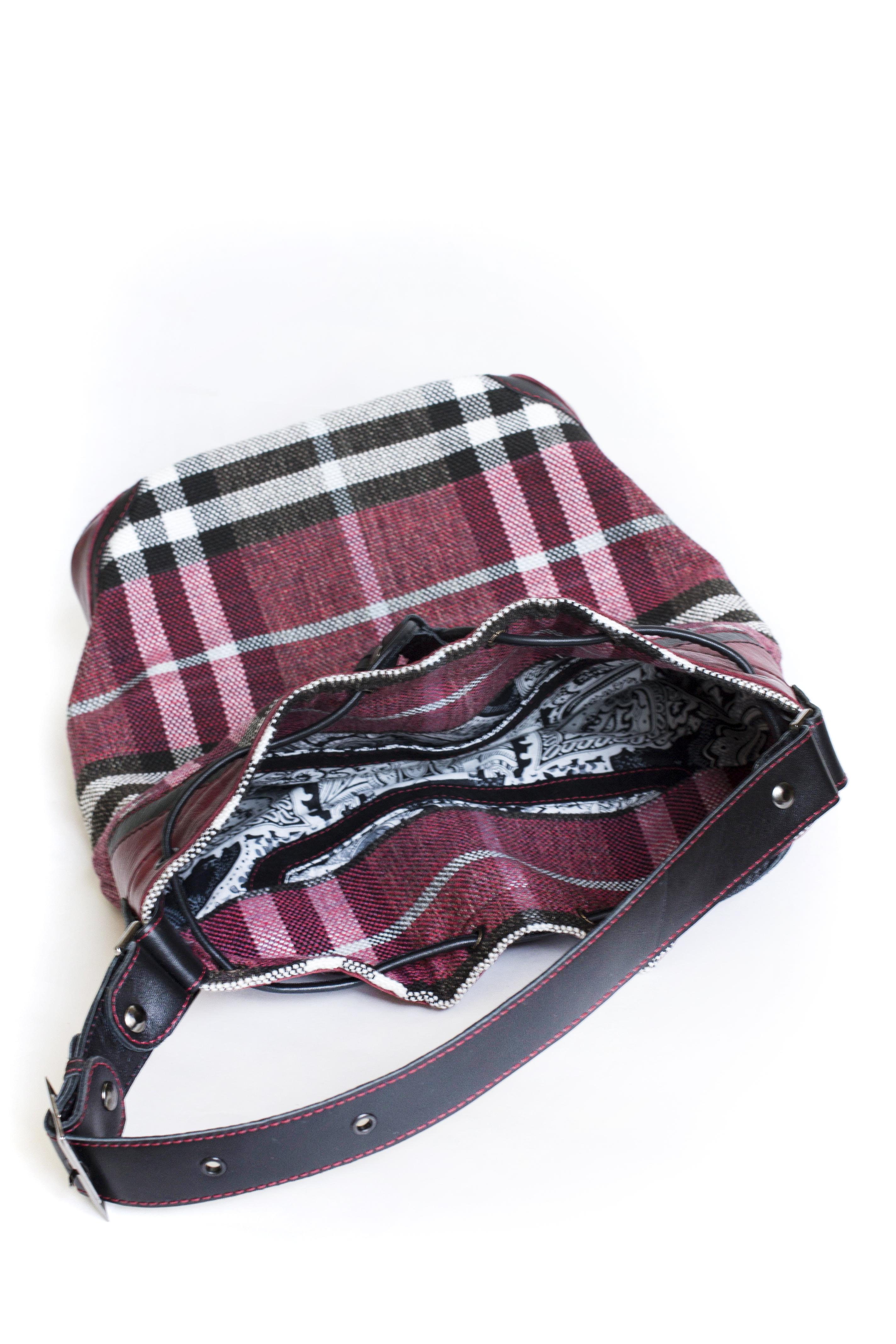 сумка с красивым подкладом