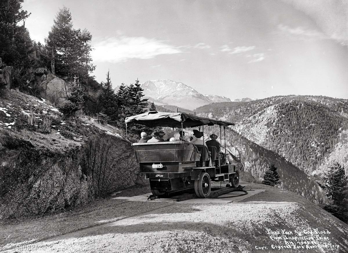 Специализированные транспортные средства начала 20-го века на снимках американских фотографов (4)