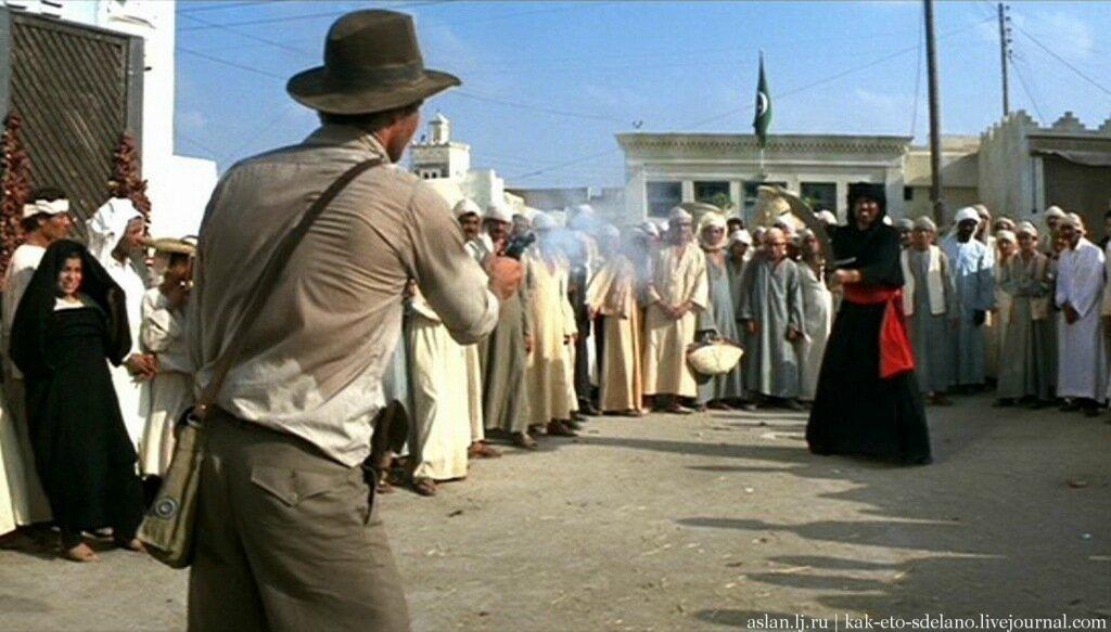 Как снимали трилогию про Индиану Джонса
