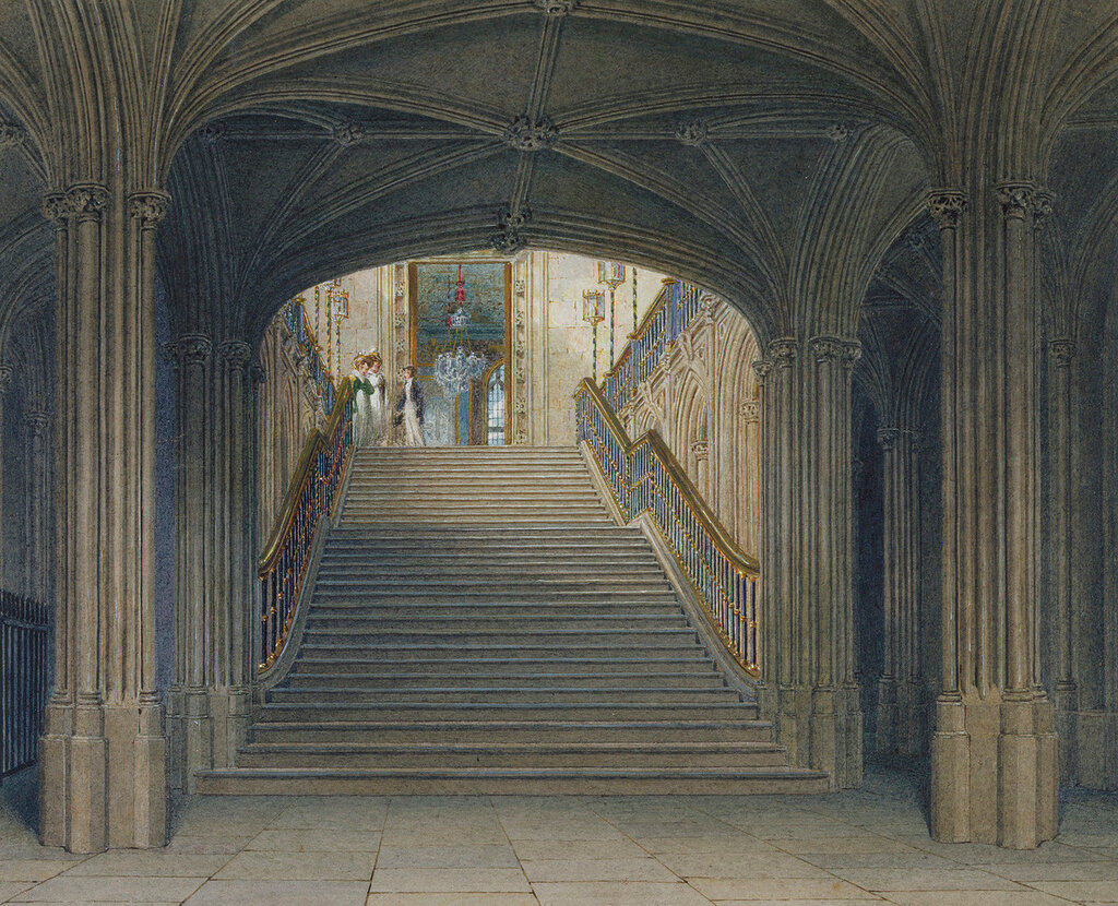Windsor Castle: The Staircase