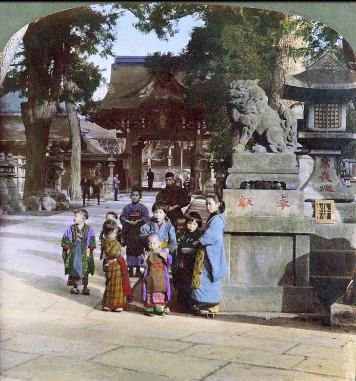 Киото. Храм Китано Тэммангу