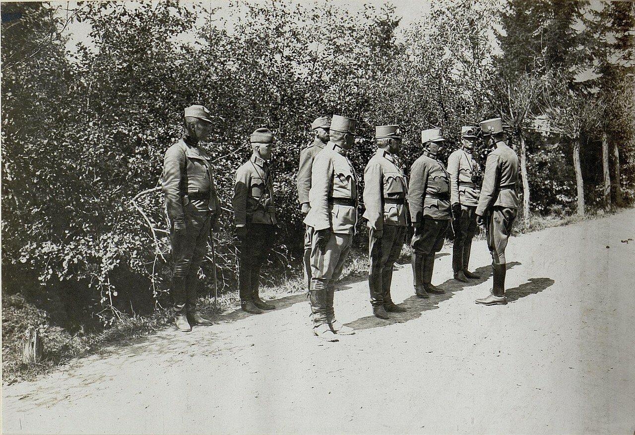 Эрцгерцог Карл в Луцке. Ноябрь 1915.