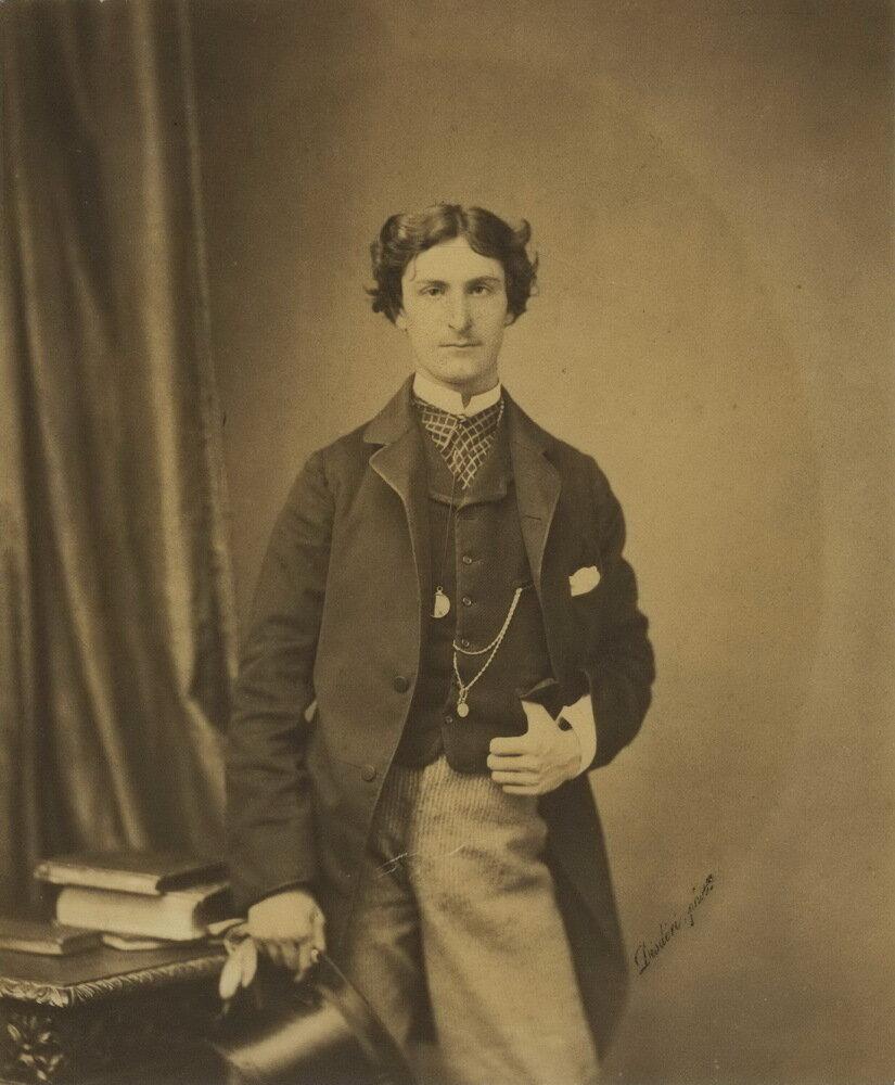 1855. Портрет молодого человека,