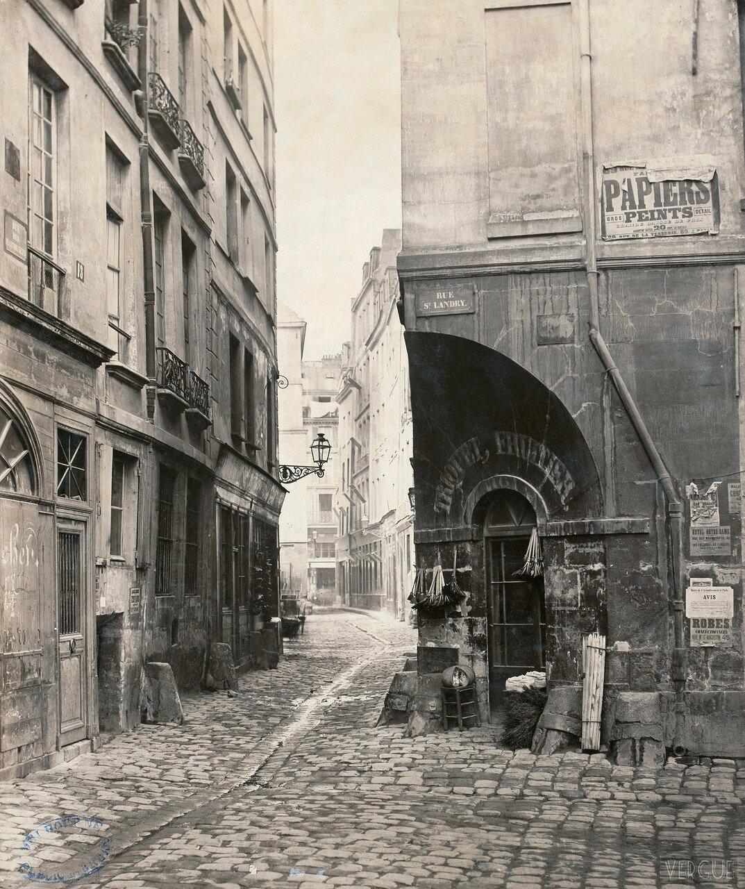 Рю Мармузет. 1865