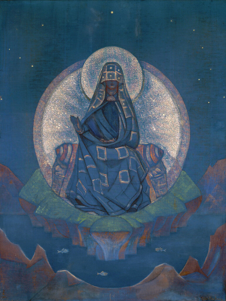 Nicholas Roerich Mother of the World, 1924.jpg