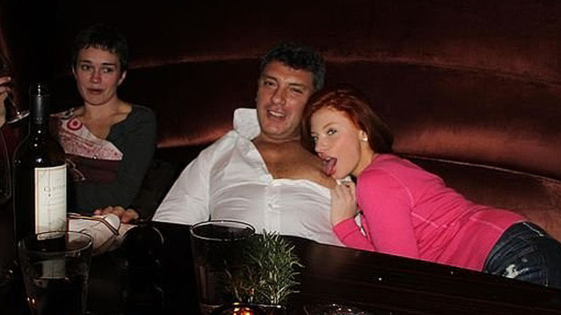 Борис Немцов и Анастасия Огнева(2a)