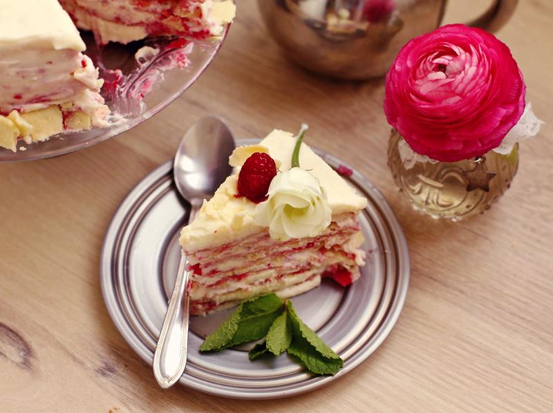 Торт Наполеон - пошаговый рецепт с фото #7.
