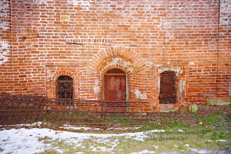 Больничные кельи, Донской монастырь, Москва