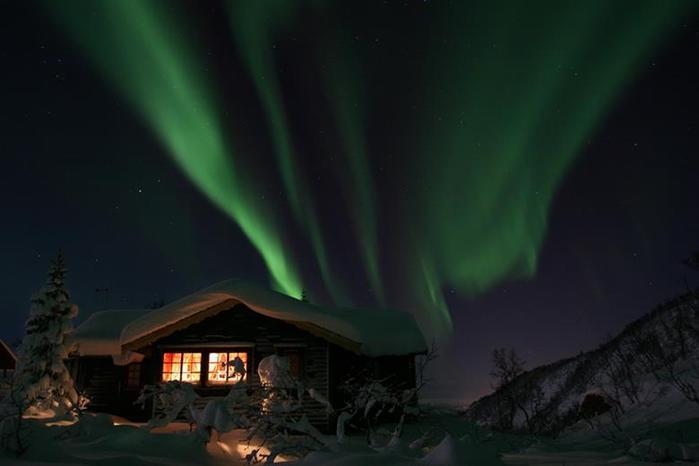 Красивые фотографии полярного сияния 0 10d605 f3bf5965 orig