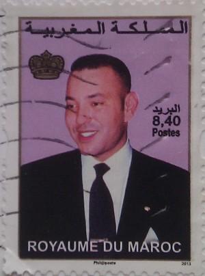 марокко 2013 король 8,40