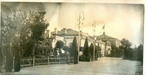 Перрон на ст. Петропавловск, 1940-е.jpg