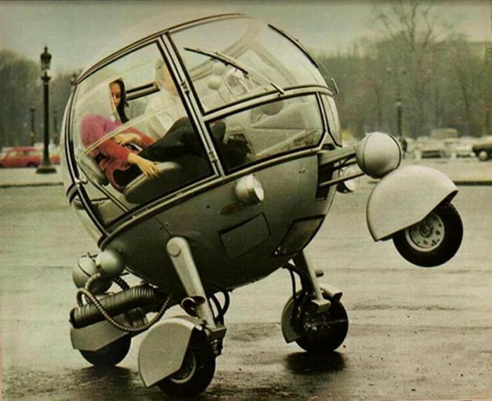 Самые футуристические модели автомобилей прошлого века