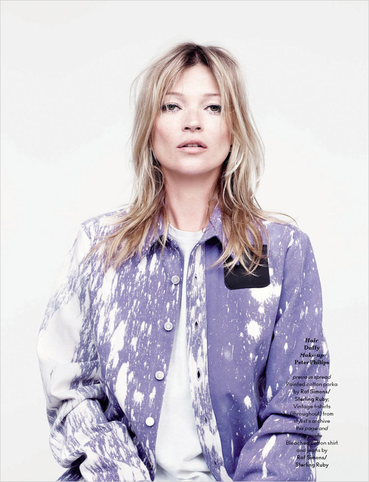 Кейт Мосс (Kate Moss) в журнале AnOther