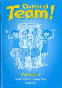 Книга Английский язык Рабочая тетрадь Oxford Team 1 Workbook