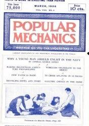 Журнал Popular mechanics №3 1906