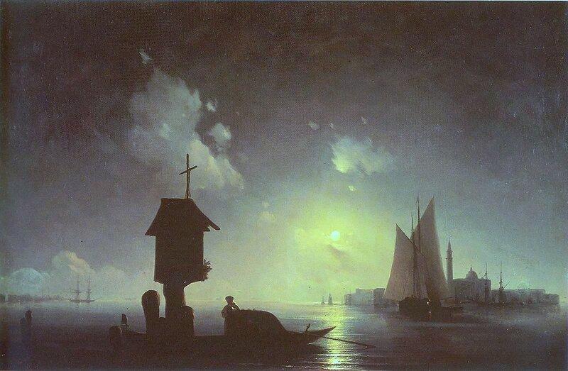 Айвазовский. Морской вид с часовней.jpg