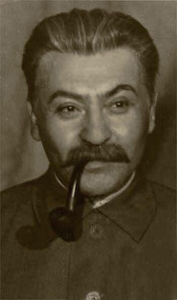 Лев Свердлин в роли Сталина