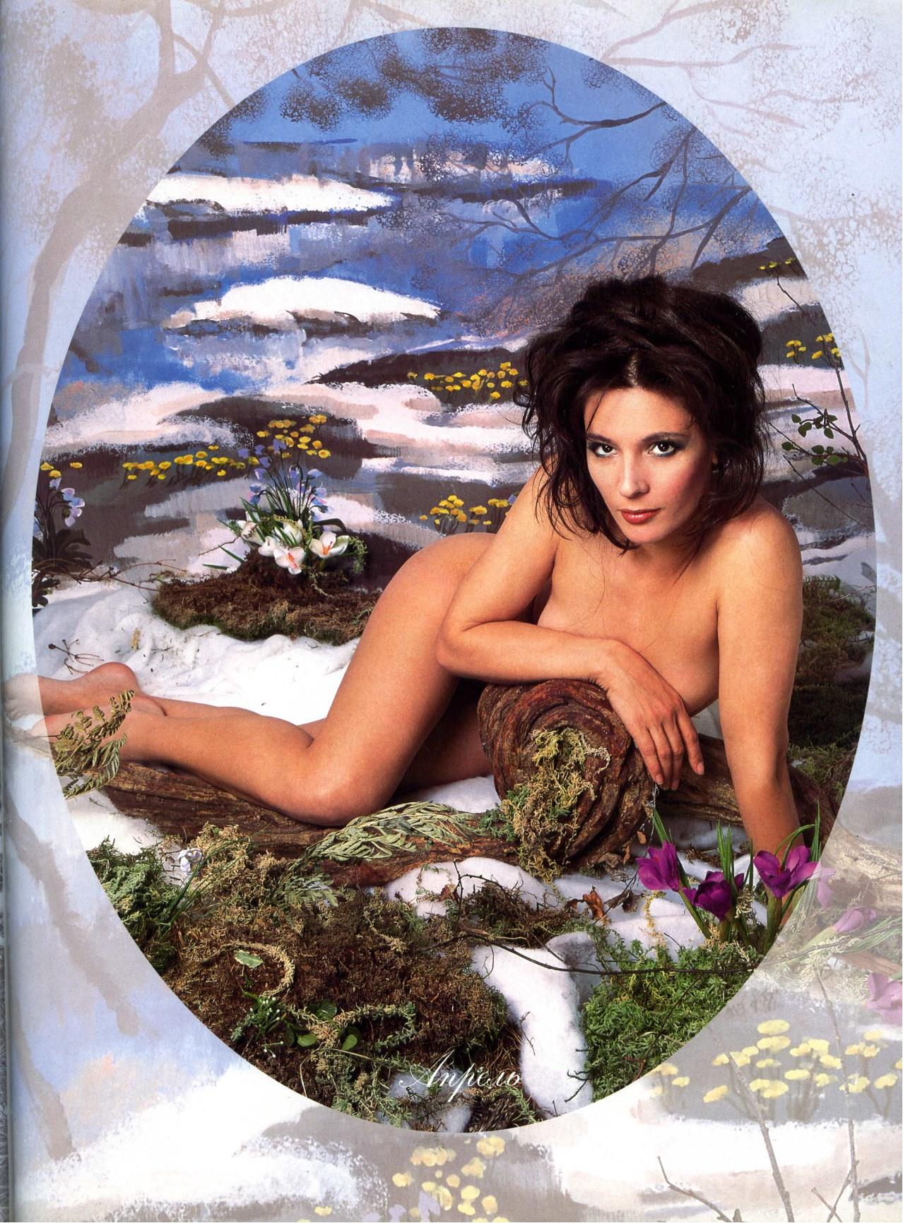 Лидия Вележева голая (Караван Историй, январь 2003)