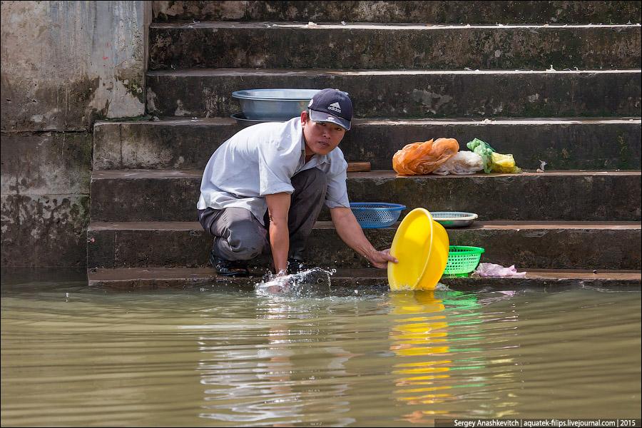 Ужасающая антисанитария во Вьетнаме