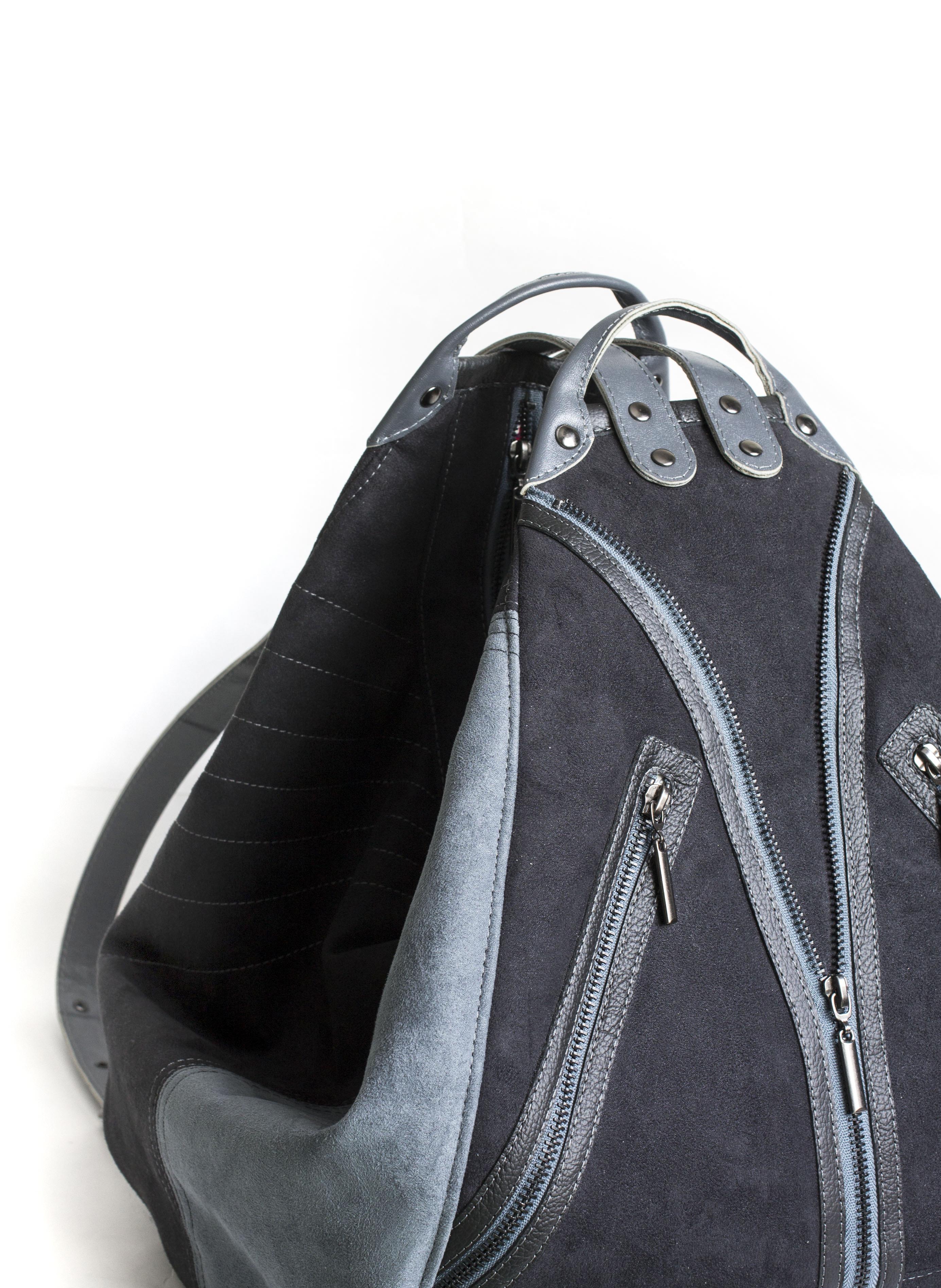 замшевый рюкзак