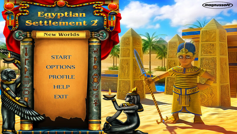 Egyptian Settlement 2: New Worlds