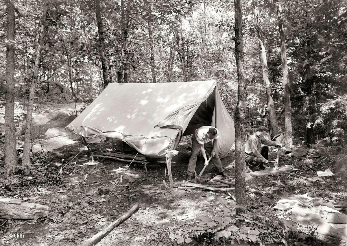 Американские бойскауты начала 20-го века на снимках фотографов (4)