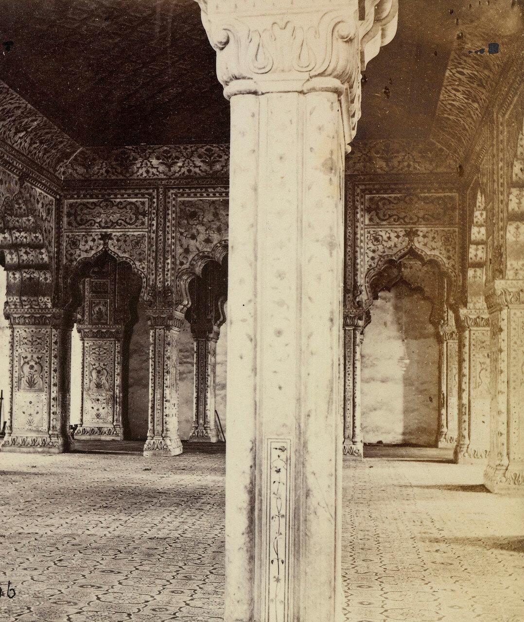 31. Интерьер Диван-и-Хас в Красном Форте, Дели