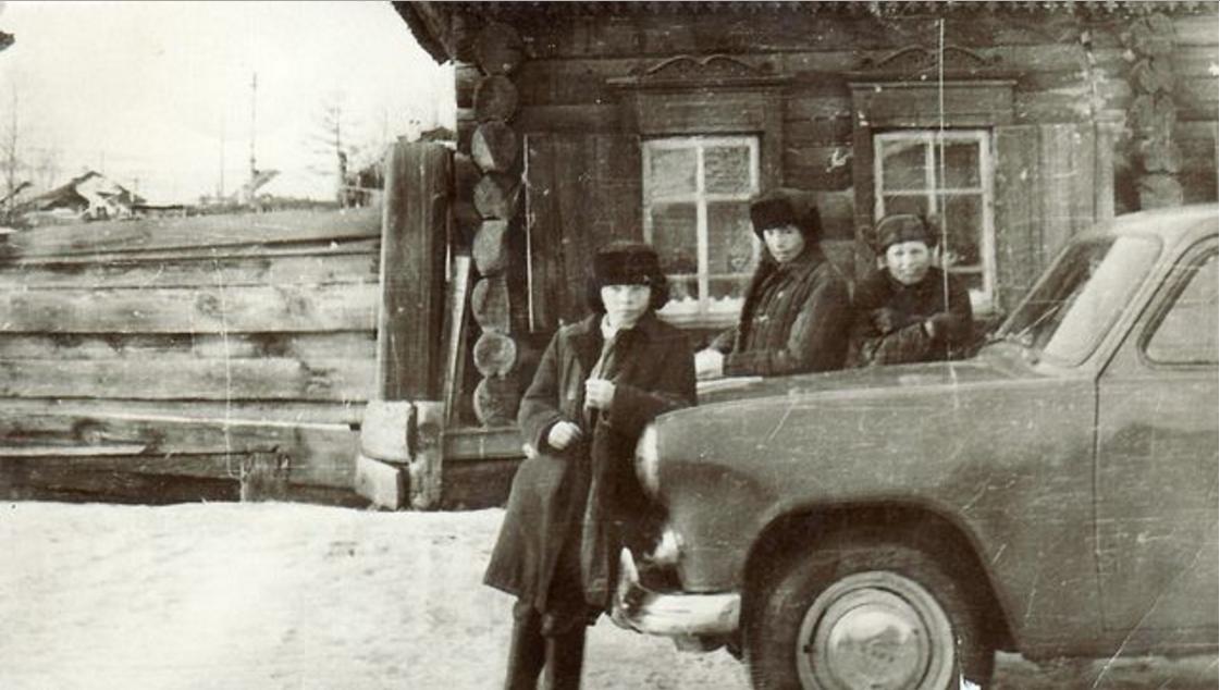 Первый «Москвич» в селе. Даурск
