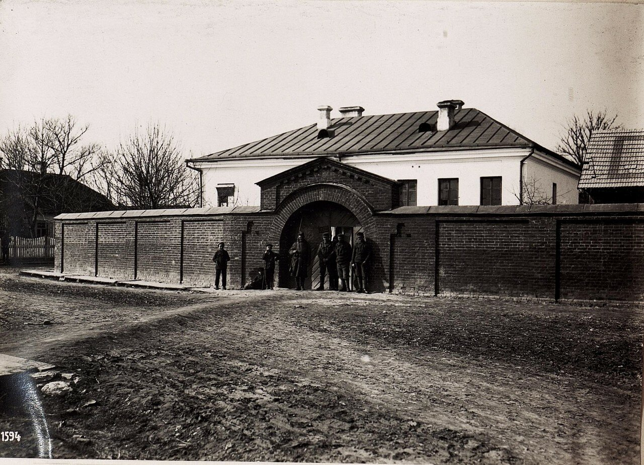 Помещение для временного задержания арестованных. (4/IV.1918)