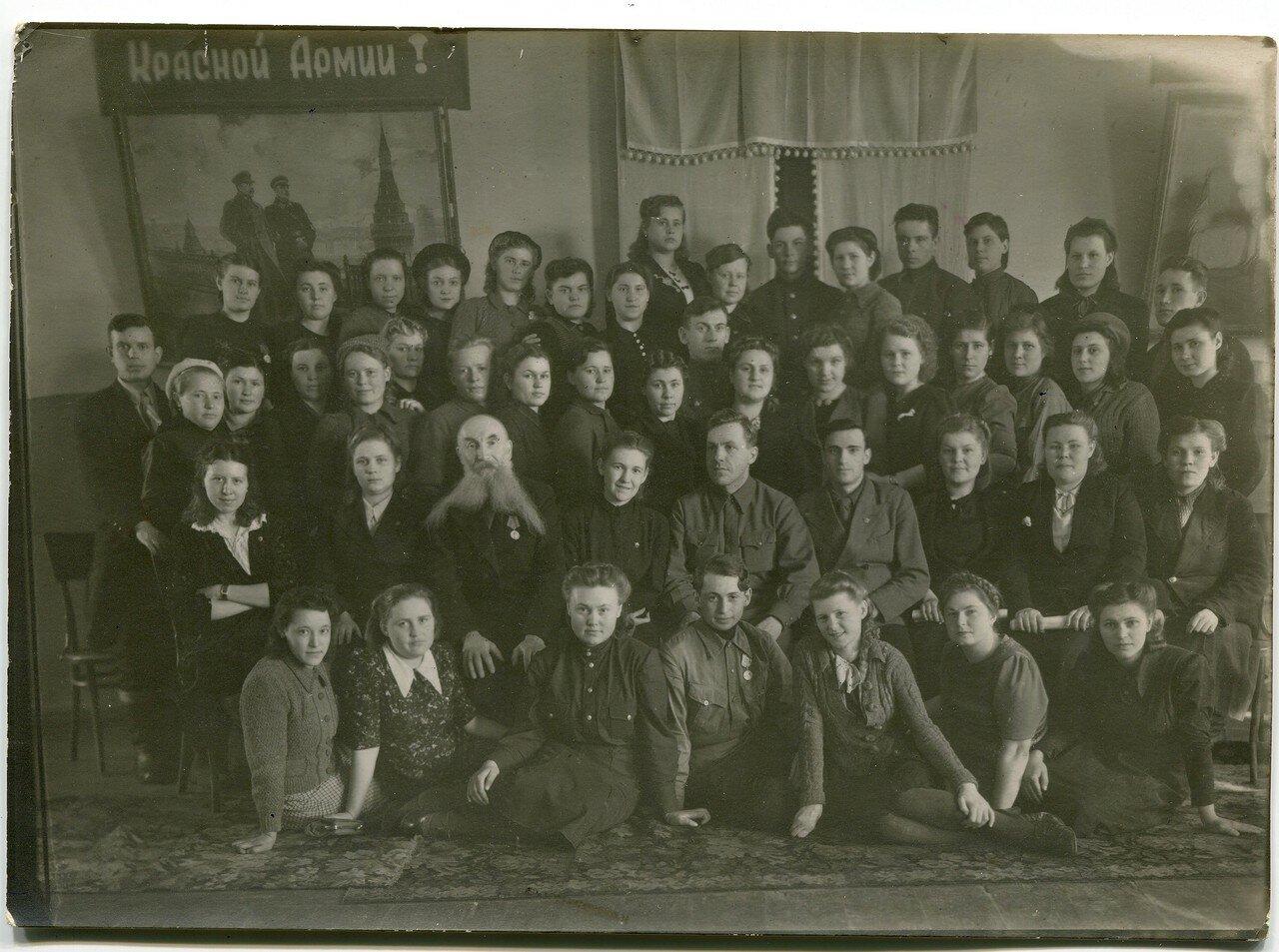 1946. 27-28 февраля. Семинар секретарей комсомольской организации