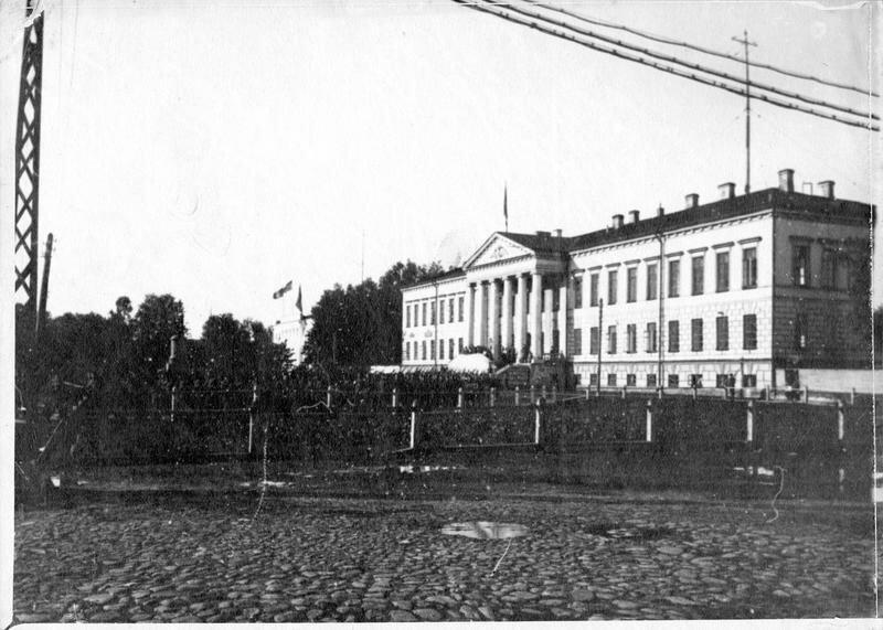 1918. Архангельск. Дворец правительства