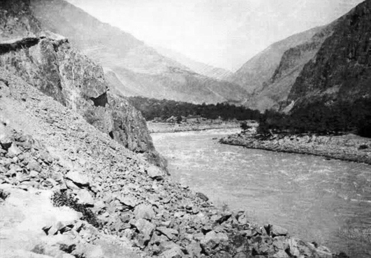 Вид реки Амударьи