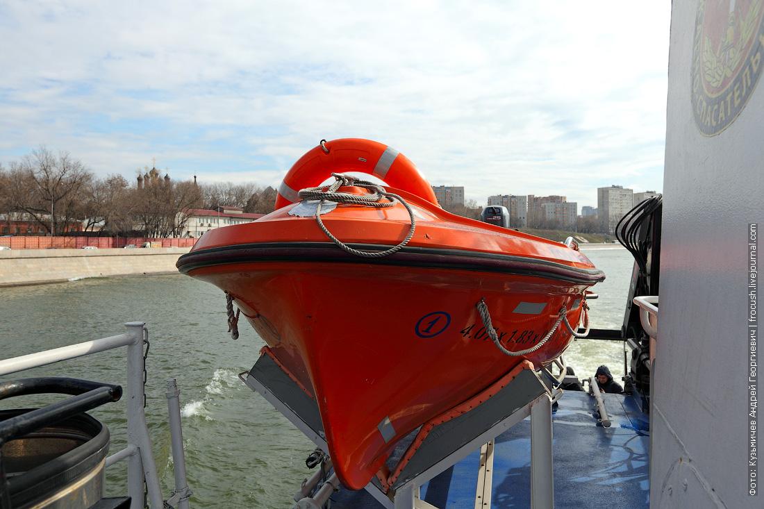 спасательная шлюпка многоцелевой пожарно-спасательный корабль Полковник Чернышев