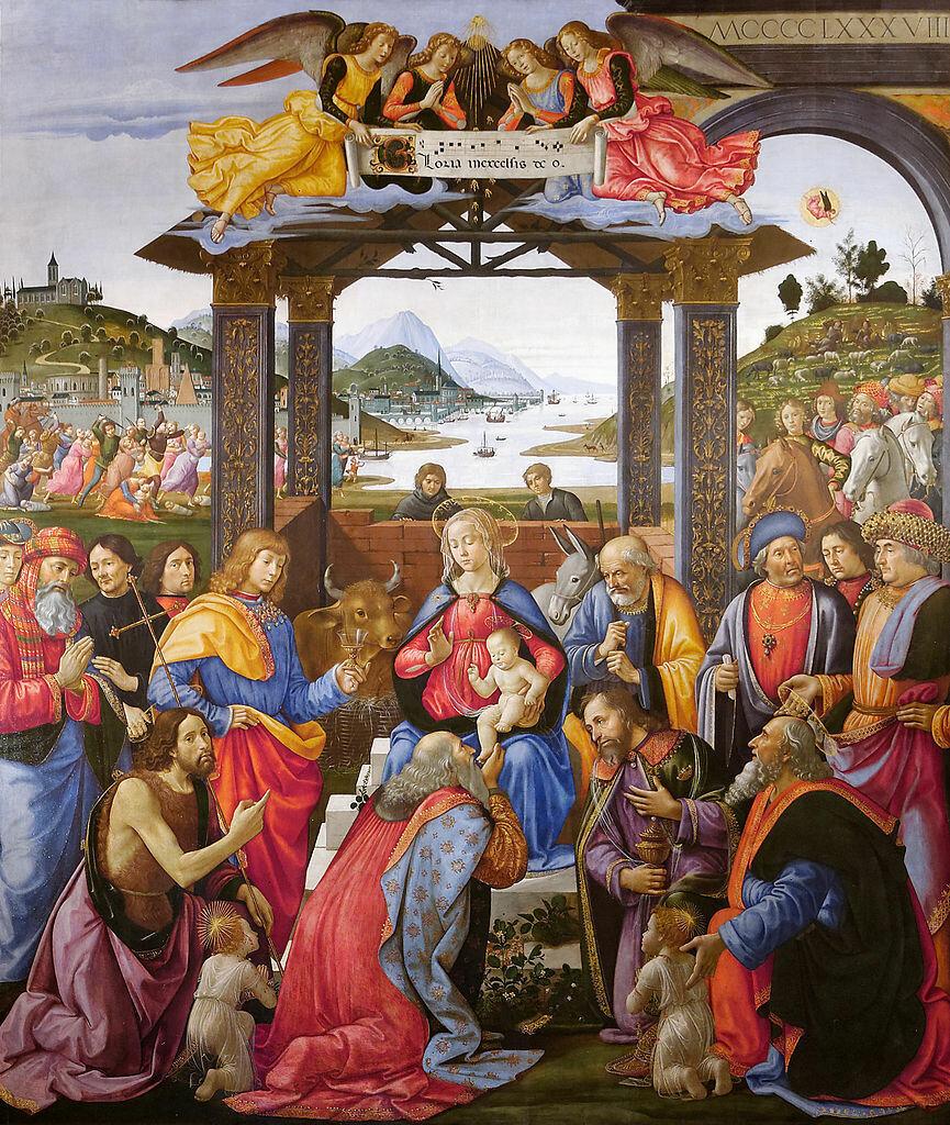 865px-Adoration_of_the_Magi_Spedale_degli_Innocenti гирландайо 1488-89.jpg