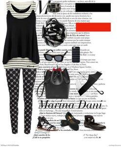 Черно-Белое. Коллекции от Marina Danilevskaya