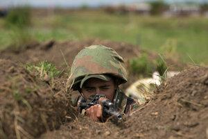 КГБ Приднестровья провело учения по стрельбе