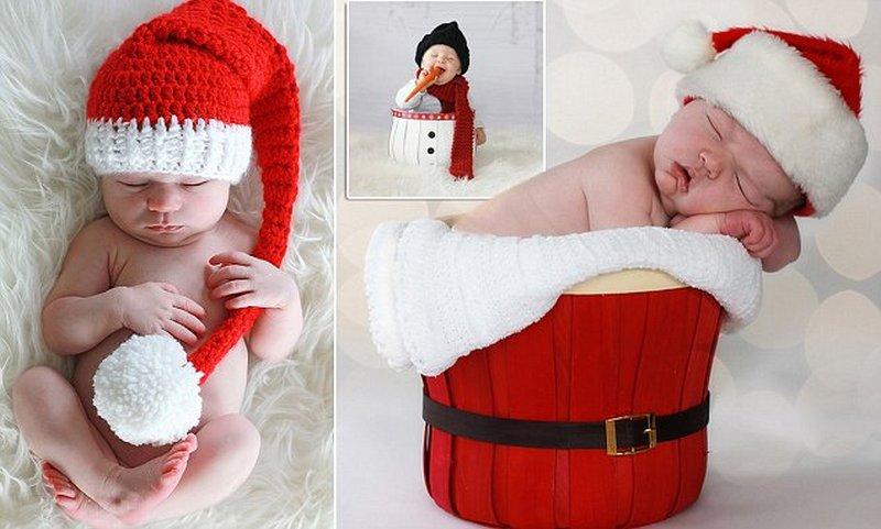 ADORABLE CHRISTMAS BABIES