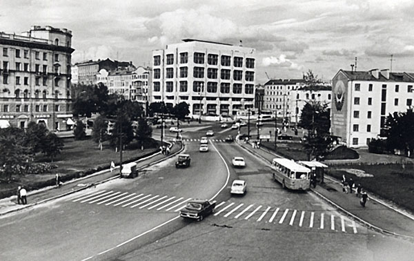 Никитские ворота. Автор Грановский Наум, 1970-е.jpg