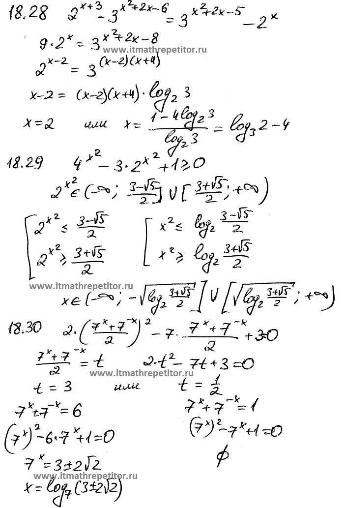 математика показательные