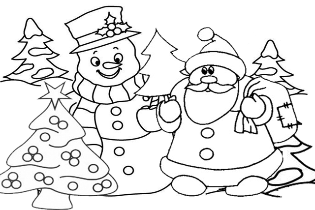 Нарисовать рисунок к новому году своими руками