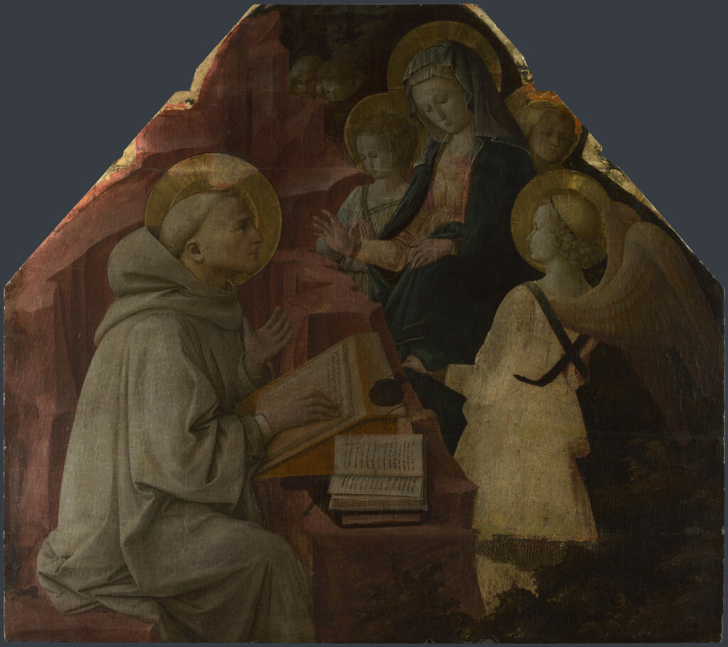 Saint Bernard's Vision of the Virgin