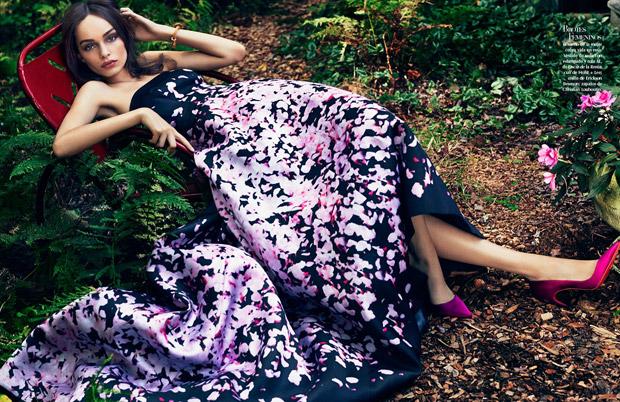 Лума Гроте (Luma Grothe) в журнале Vogue Mexico