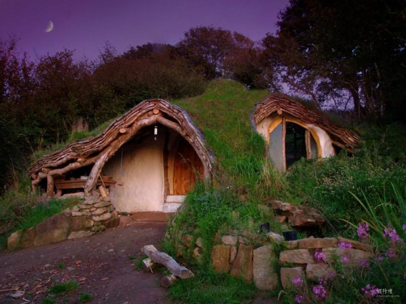 Дом в пещере, Троо, Франция