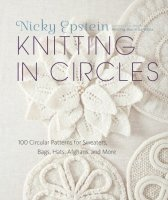 Журнал Knitting in Circles: 100 Circular Patterns for Sweaters, Bags, Hats, Afghans, and More jpg 169Мб