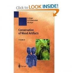 Книга Conservation of Wood Artifacts
