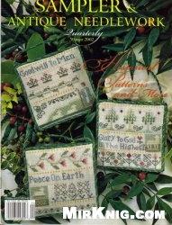 Журнал Sampler & Antique Needlework vol.29 2002