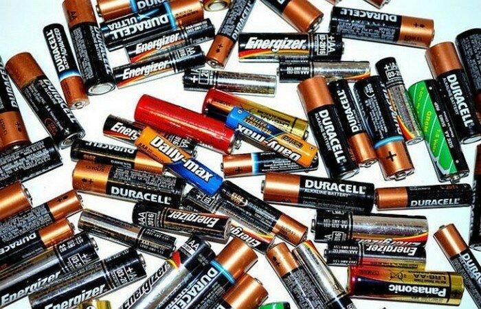 Заряд батарейки