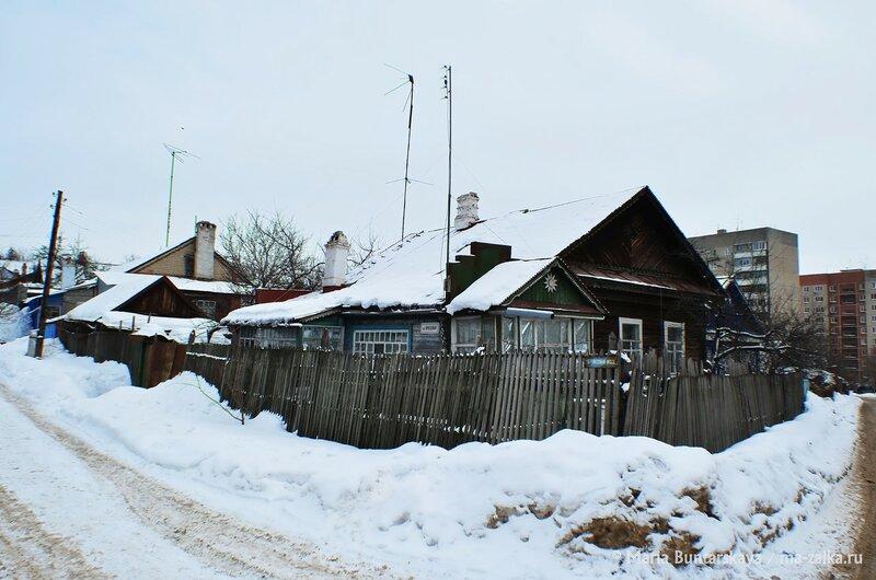 Просторы Королькова сада, Саратов, 01 февраля 2015 года