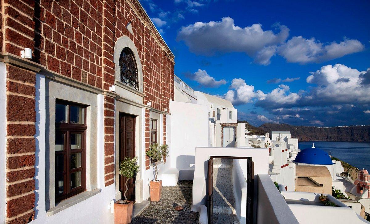 PATSIOS architecture+construction, обзоры отелей, 1864 The Sea Captain's House, The Sea Captain House, греция санторини отели, отели ия
